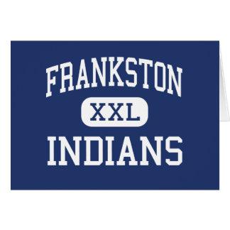 Frankston - Indians - High - Frankston Texas Cards