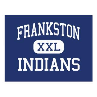 Frankston - Indians - High - Frankston Texas Postcards
