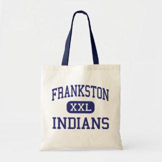 Frankston Indians Middle Frankston Texas Canvas Bag