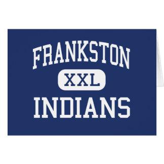 Frankston Indians Middle Frankston Texas Greeting Card