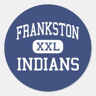 Frankston Indians Middle Frankston Texas Stickers