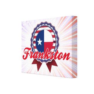 Frankston TX Gallery Wrapped Canvas
