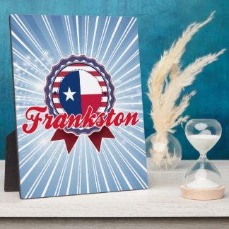 Frankston, TX Placas