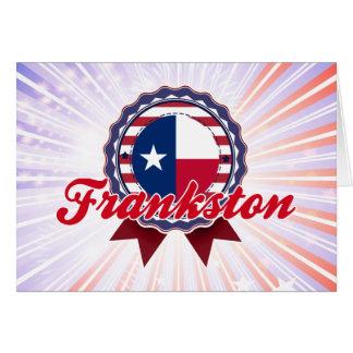 Frankston, TX Felicitación