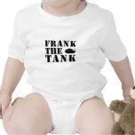 frankthetank3blk baby bodysuit