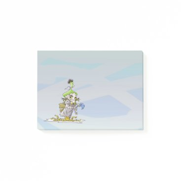 Professional Business Franky Butter ALien Post-it® Notes 4 x 3