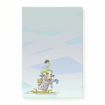 Professional Business Franky Butter ALien Post-it® Notes 4 x 6