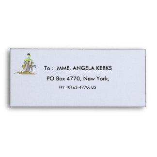 FRANKY BUTTER Envelope Size & Style: # 10