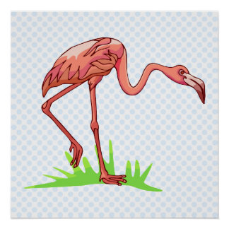 Frannie Flamingo Posters
