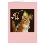 Frannie la tarjeta del chipmunk
