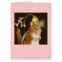 Frannie the chipmunk card
