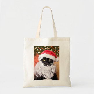 Franny Claus Sad Santa Kitty Bags
