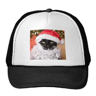 Franny Claus Sad Santa Kitty Trucker Hat