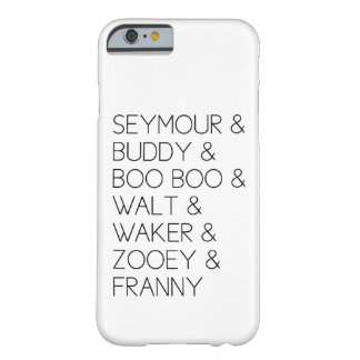 Franny Zooey Glass Family iPhone 6 case