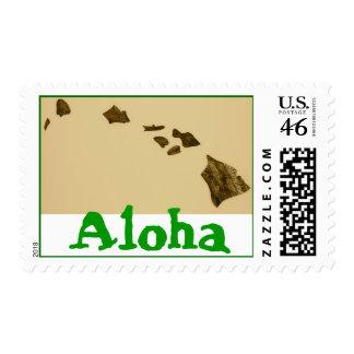 Franqueo #1 de Hawaii de la hawaiana