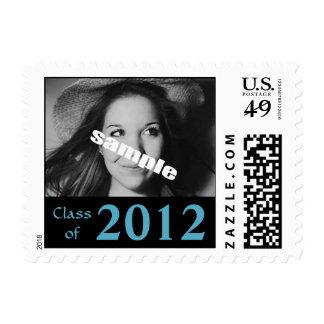 Franqueo 2012 de la invitación de la foto de la gr