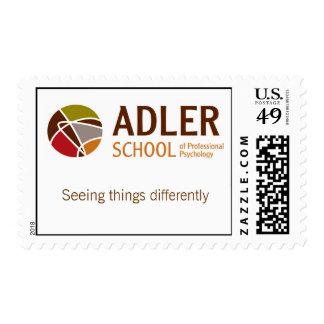 Franqueo 2 de la escuela de Adler Sello