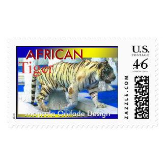 Franqueo AFRICANO del TIGRE