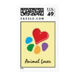 Franqueo animal de Lover_Heart-Paw