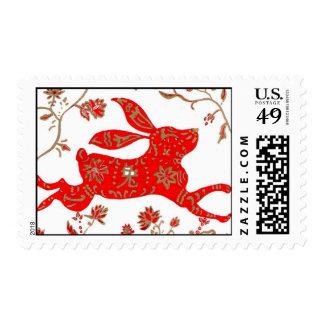 Franqueo, Año Nuevo chino del conejo Franqueo