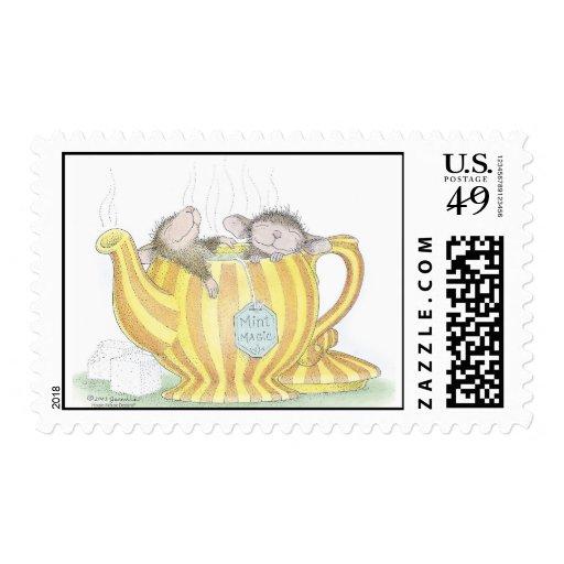 Franqueo aprobado de Designs® USPS del Casa-Ratón