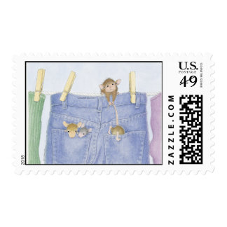 Franqueo aprobado de Designs® USPS del Casa-Ratón Sello Postal