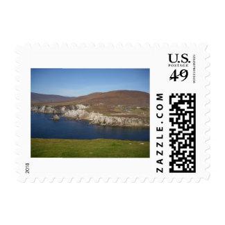 Franqueo atlántico de Irlanda de la impulsión Timbres Postales