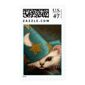 Franqueo BLANCO del MAGO de RAT/MICE/MOUSE Timbres Postales