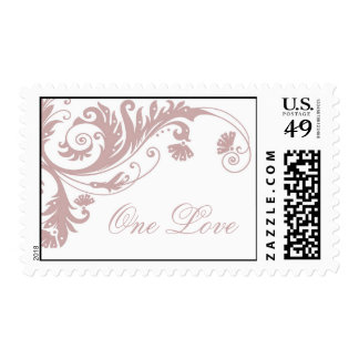 Franqueo bonito del boda sello