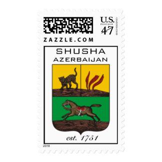 Franqueo de AAC: Shusha, Azerbaijan Estampilla