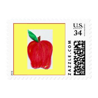 Franqueo de Apple - postal Estampillas