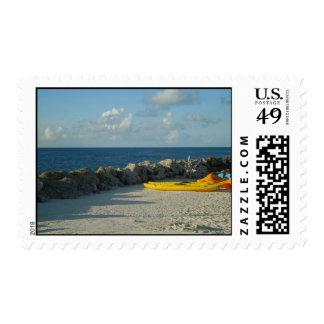 Franqueo de Bermudas de la playa del parque del tu