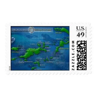 Franqueo de British Virgin Islands Sello