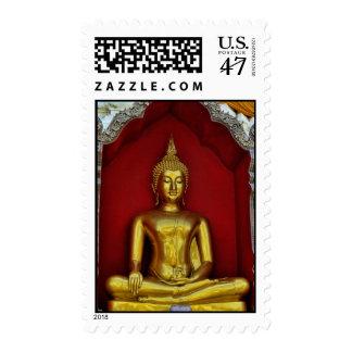Franqueo de Buda del oro Estampillas