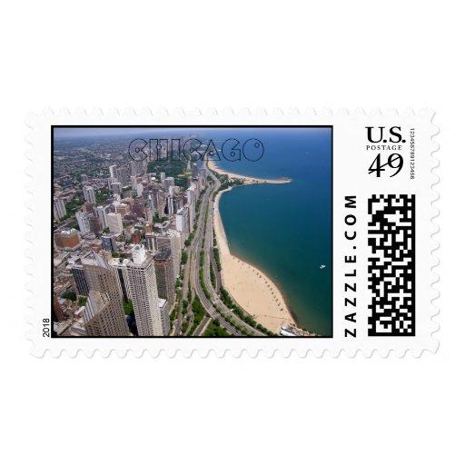 Franqueo de Chicago Sellos Postales