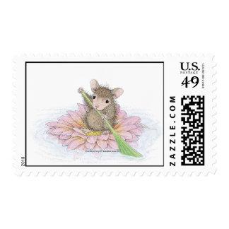 Franqueo de Designs® del Casa-Ratón Sello Postal