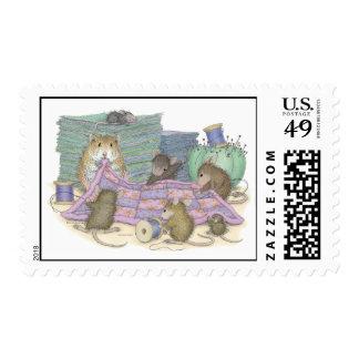 Franqueo de Designs® del Casa-Ratón Timbre Postal