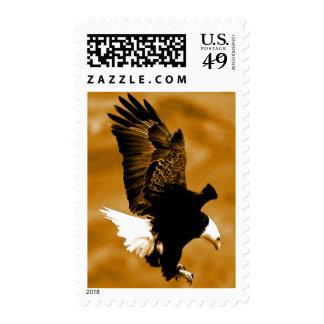 Franqueo de Eagle del aterrizaje