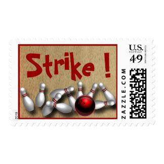 Franqueo de encargo de los bolos sellos postales