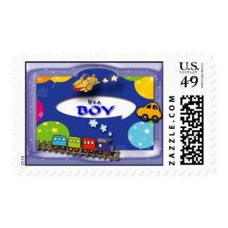 Franqueo de encargo sello postal