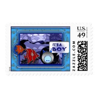 Franqueo de encargo timbre postal