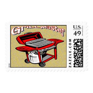 Franqueo de Grill Master Sellos Postales
