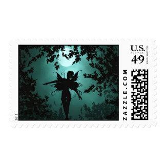 Franqueo de hadas precioso timbres postales