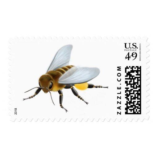 Franqueo de la abeja de la miel