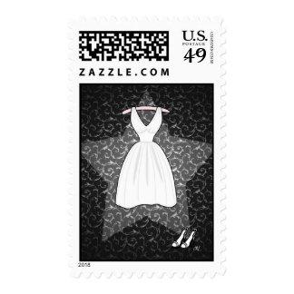 """Franqueo """"de la actriz joven rubia"""" timbres postales"""