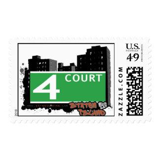 Franqueo de la banda sello postal