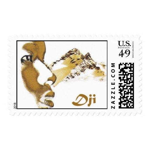 Franqueo de la banda timbre postal