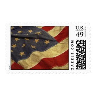 Franqueo de la bandera americana timbres postales
