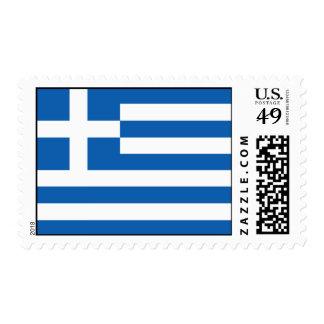 Franqueo de la bandera de Grecia