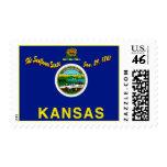 Franqueo de la bandera de Kansas